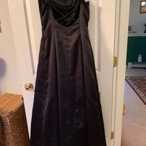 Black Gown worn once
